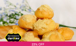 20 Pieces of Premium Mini Durian Puffs from Four Seasons Durians for $9.90 (U.P. $12.90) at Fave [previously Groupon]