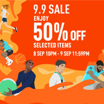 50% off Selected Styles at adidas