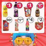 7-Eleven Deals: $1 Suntory Vitamin C.C Lemon, Ribena Blackcurrant, Nongshim Instant Noodles Cup, $0.9 Hello Panda Cookies + More
