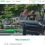 $3 off 5x GrabCar Rides with Grab (after Taking 1-2 Full Fare GrabCar Rides)