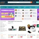 $5 off Overseas Deals at Lazada ($20 Minimum Spend)