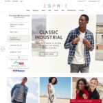 40% off Full Priced items + Extra 10% off with $100 Minimum Spend at Esprit
