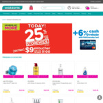 25% off Storewide ($38 Minimum Spend) + Bonus $9 eVoucher ($100 Minimum Spend) at Watsons [Members]