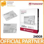 Transcend 240 GB SSD (Model Number: SSD220S) $79 with 3 Year Local Warranty @ Lazada ($71 for New Users)